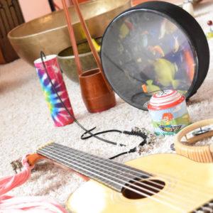 Musiktherapie in der Kindheit und Jugend