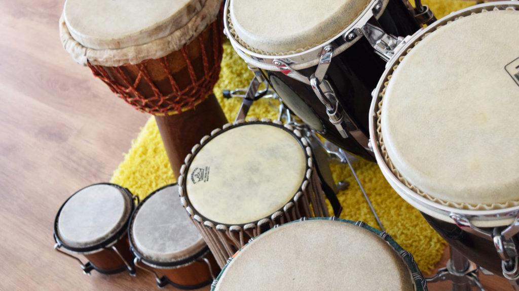 Musiktherapie Keller Trommeln